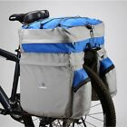 Bicycle Carrier Rear Rack Trunk Bike Luggage Back Seat Pannier Two Bags Outdoor