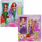 Disney Princess Royal Ribbon Salon Dolls Deluxe Hair Play With Accessories