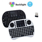 New 2.4GHz Mini Portable LED Backlight Wireless Keyboard with Touchpad