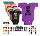 Unisex Baby BLACK PANTHER MARVEL Comics inspired bodysuits! Choice of colors