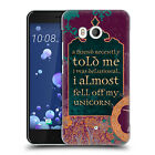 OFFICIAL DUIRWAIGH TYPOGRAPHY 2 HARD BACK CASE FOR HTC PHONES 1