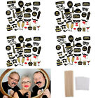 36Pcs Birthday 21st 30th 40th 50th 60th Photo Booth Props Party Selfie Stick Kit
