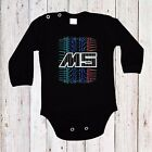 BABY BODY BMW M5 AUTO CAR LANGARM/KURZARM BLACK