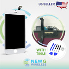 iPhone 6 LCD Display Touch Screen Digitizer Replacement Parts black white Tools