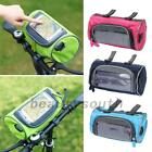 Bicycle Bags Cycling Front Handlebar Touch Screen Phone Bag Zipper for Riding