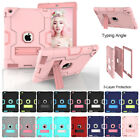 Shockproof Rubber Hard Kickstand Case Cover For iPad 2/3/4 Mini 123 air 1/2 Pro