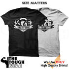 SIZE MATTERS Gym Rabbit T Shirt Workout Bodybuilding Fitness Lifting Heavy 954 image