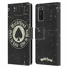 OFFICIAL MOTORHEAD LOGO LEATHER BOOK WALLET CASE COVER FOR SAMSUNG PHONES 1