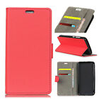 Premium PU Leather Case Folio Book Stand Cover Holder Pouch For Wiko Smartphones