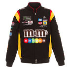 2018 Authentic Kyle Busch M&M Black Cotton Jacket JH Design new