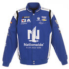 2018 Alex Bowman JH Design Nationwide Full Snap Twill Uniform Jacket Royal Blue