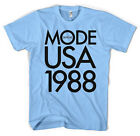Unofficial Custom Designed Depeche Mode 1988 USA Tour Unisex T-Shirt All Sizes