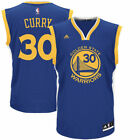 adidas Stephen Curry Golden State Warriors Royal Blue Replica Road Jersey