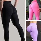 Sexy Womens Yoga Gym Stretch Trousers Leggings Fitness Jogging Sports Pants S-XL