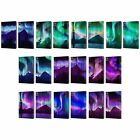 HEAD CASE DESIGNS NORTHERN LIGHTS LEATHER BOOK WALLET CASE COVER FOR APPLE iPAD