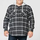 NEW Mr Big Hooded Flannelette Shirt