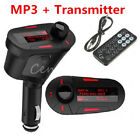 Music kit Car Kit FM Transmitter Wire Radio Adapter USB Charger Mp3 Player