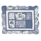 Patchwork Classic Floral Pillow Sham with Scalloped Border, by Collections Etc image