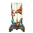 Spring Glass Table Lamp Decoration with Remote Control by Collections Etc