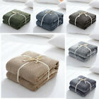 Home Soft Warm Cuddly Throw Sofa Double Bed Flannel Fleece Blanket 70*100cm US