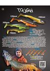 "5 leurres souples Tough 2,8"" CRAZY FISH 70mm  pêche streetfishing sandre perche"