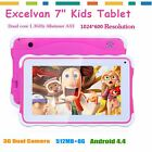 "Excelvan 7"" 3G Tablet PC Android 4.4 Allwinner A33 Duad Core Camera 8GB WIFI EU"