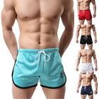 Summer Mens' Casual Short Drawstring Beach Shorts Fitness Trunks Short Trousers