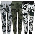 Kids Camouflage Tracksuit Bottoms Boys Girls Joggers Teenagers Sweatpants 3-14 Y
