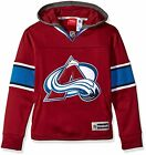 Reebok NHL Youth Colorado Avalanche Faceoff Jersey Hoodie on eBay