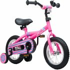 """Mearx 12"""" Children's Bike with Training Wheels Steel Frame,for 2-5 Years Old"""