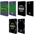 OFFICIAL WWE WRESTLEMANIA 34 LEATHER BOOK WALLET CASE FOR SAMSUNG GALAXY TABLETS