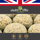 Wild Bird Fat Balls. [ I`m Just Nuts ] Finest Quality, Doughy,by Winston Wilds.