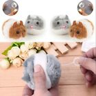 New Funny Plush Fur Mouse  Mouse Cat Toy Pet Little Interactive Kitten Toys