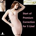 FARMACELL BODY SHAPER NUDE Open-Bust Vest + High Waist Girdle S-Line Shaping IT