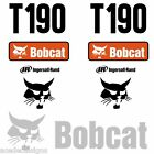 Bobcat T190 DECALS Stickers Skid Steer loader New Repro decal Kit