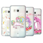 HEAD CASE DESIGNS SASSY UNICORNS HARD BACK CASE FOR HTC PHONES 1