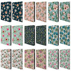 OFFICIAL JULIA BADEEVA FLORAL PATTERNS LEATHER BOOK WALLET CASE FOR APPLE iPAD