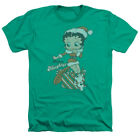 Betty Boop DEFINE NAUGHTY Christmas Present Adult Heather T-Shirt All Sizes $27.44 USD on eBay