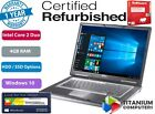"""Dell Latitude D630 2.2GHz 14.1"""" C2D 4GB Ram UPTO to 1TB HDD SSD Option Windows10"""