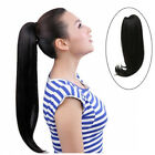 """HOT 22"""" 125g Claw Easy Clip in Ponytail Straight hair Human Remy Hair Extensions"""