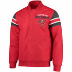 G-III Extreme Tampa Bay Buccaneers Red Alpha Full-Snap Jacket