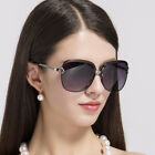 Oversized Square Sunglasses Women Polarized Retro Fashion Driving Large Eyewear