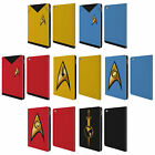OFFICIAL STAR TREK UNIFORMS AND BADGES TOS LEATHER BOOK CASE FOR APPLE iPAD on eBay