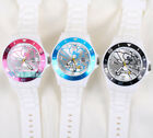 JAPAN DORAEMON SHINY FACE SILICONE BAND WRIST WATCH W/ GIFT BOX  DO-0006