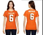 Baker Mayfield Cleveland Browns  Womens High Quality Graphic T-Shirt