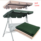 "Waterproof Outdoor Swing Top Cover Canopy Replacement 66x45"" 75x52"" 77x43"" US"