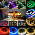 HOME XMAS PARTY DECORATION LAMP 5M 5050SMD 300 LED STRIP LIGHT DC 12V 2A UK PLUG