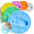 Clay Baby Handprint Footprint Imprint Kit Super Soft Air Drying Casting Print #