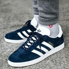 ADIDAS ORIGINALS GAZELLE BB5478 COLLEGIATE NAVY BLUE WHITE GOLD METALLIC SUEDE
