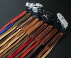 LUIGI DELUXE STRAP FULLY LINED inSOFT SUEDE,VARIOUS COLORS,for LEICA,NIKON,FUJI+